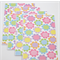 Pastel Floral Notecards - Set of 4