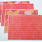 Coral/Orange Notecards - Set of 4