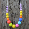 Pebbles Silicone Teething Necklace