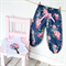 Harem Pant + Singlet Set Sizes Newborn - 1 Tilda in blue pink floral pretty