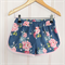 Sporty Shorts by Twinkle Star (Tilda in Blue) ~ Pink, pretty, floral, roses