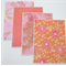 Coral/Pink Notecards - Set of 4