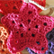 Custom Order for Horvate - A String of Stars... Crochet Garland