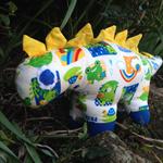 Handmade Stuffed Dinosaur Toy