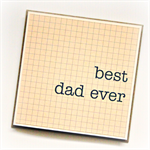best dad ever card happy father's day