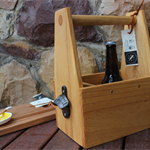 BYO6 Six Pack Beer Carrier; for father's day, bridal party, groom, housewarming