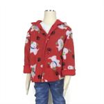 Boys fleece hooded jacket, coat. Children's Winter clothing. Size 1-6