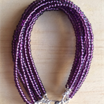PURPLE COLOUR BASICS BRACELET - FREE SHIPPING WORLDWIDE