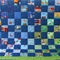 Baby Boy Quilt or Toddler Quilt - Crib Quilt - I Spy Quilt in Blues and Greens