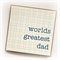 happy father's day card worlds greatest dad