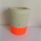 Single Tall Concrete Planter / Candle Holder - CUSTOM COLOURS AVAILABLE