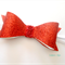Red glitter bow headband