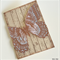 Copper Swallowtail Butterfly Card