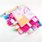 CUTE ZOO ~ Baby Security Blanket Blankie Taggie Toy +FREE Taggie Saver