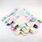 PINK PATCHWORK HOOTY OWLS  Security Blanket Blankie Taggie Toy + Taggie Saver