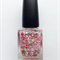 "Nail Polish ""Strawberry Fields"" Indie/Handmade Glitter  Vegan Friendly"