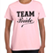 Team Bride Hen's party t shirts