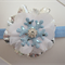 Toddler/girl headband ~ Frozen inspired clip/headband set
