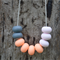 Fruit Loops Silicone Teething Necklace