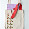 Triangle Patch Market Tote/Shopping Bag/Library Bag