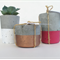 Concrete Trio - Three Tealight Candle Holders - Urban Decor
