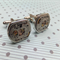 Silver Steampunk Cuff Links