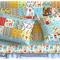 Giraffe Crossing Patchwork Cot Set - Baby Crib Quilt Set