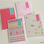 Birthday Card Pack - Girly Spots & Patterns