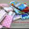 wash or burp cloth - 5 bulk buy / organic cotton bamboo / baby child girl boy