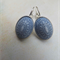Denim Blue Mosaic Earrings