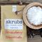 Skrubs Natural Body Sugar Scrub Organic Coconut Almond Oil Vitamin E Strawberry