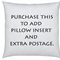 Purchase to add pillow insert & extra postage for any pillow - Aus only.