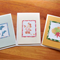 Set of 3 handmade cards