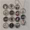 15 X 5 SECONDS OF SUMMER-PARTY FAVOR NECKLACES OR KEYRINGS