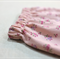 baby harem pants / Japanese corduroy / pink floral / 3-6 mths