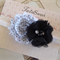 two chiffon flower headband