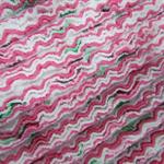 Pram Snuggle Rug  Strawberry Chenille Pink