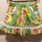 Pretty floral ruffle shorts sz 000-2