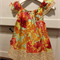 Amy Butler peasant dress sz 0-5