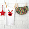 Reindeer Christmas bloomers & singlet - boy, girl, red, green, 1st, shirt