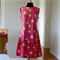Women's Retro A-Line Shift Dress Size M