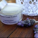Lavender Body Powder, 10g  Powder Container