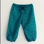 Size 0-4 Emerald Green Diamond Black Lounge Pants