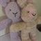 "Snuggletime Easter Bunny - ""Lola and Paula"" softie."