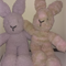 "Snuggletime Easter Bunny - ""Lola and Paula"" softies."