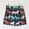 Size 6-7 Retro Rascals Boys Shorts - Horses