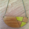"The ""Essy"" Tasmanian Blackwood Pendant necklace"