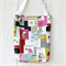 Tote Bags in Sewing Patchwork Print