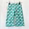 Size 3 Unisex Corduroy Pants - Teal Hippo