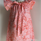 Pink Rose Peasant Dress ~ size 3